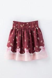 魔法少女まどか☆マギカ LIZ LISA クッキースカート