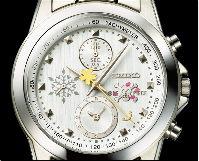 ONEPIECE SEIKO コラボ チョッパー 腕時計 クロノグラフ 女性 レディース